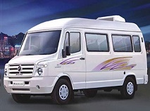 17 seater bus hire in pune