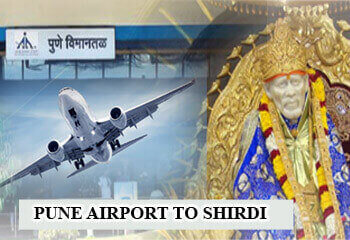 Pune airport to Shirdi Cab