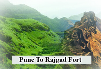 Pune To Rajgad Fort Cab